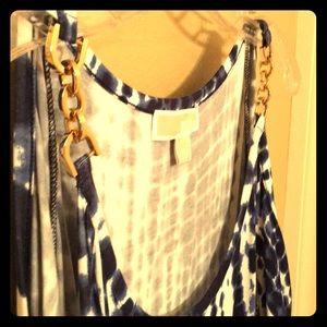 MK Michael Kors XL tie dye knee length dress